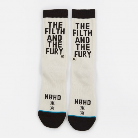 x Stance Socks The Filth And The Fury  - White