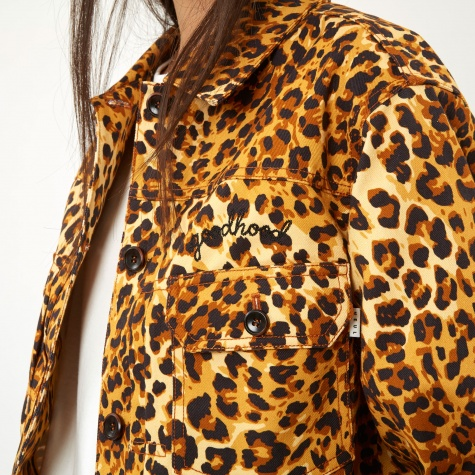 x Goodhood Trucker Jacket - Leopard Print