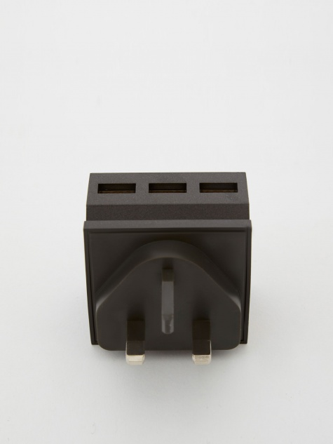 Hide Mini 3-in-1 USB Charger & Phone Stand - Black