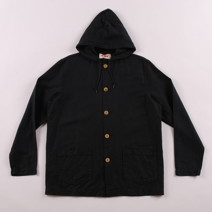 YMC Hooded Beach Jacket - Navy (Image 1)