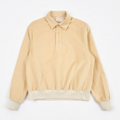 Velveteen Pull Over - Cream