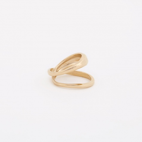 Loop Ring - 14K Gold Plated