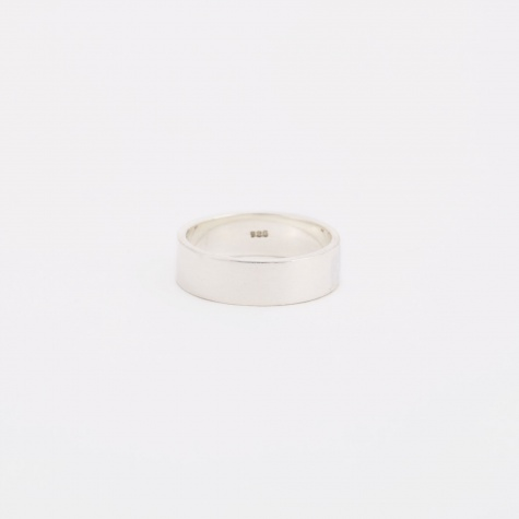 Plain Ring - Sterling Silver