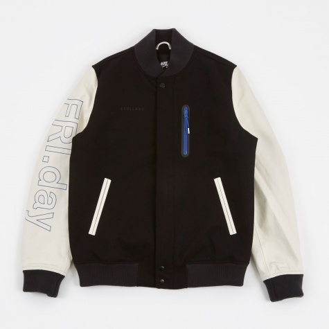 Soulland x Nike SB Destroyer Jacket - Black/White