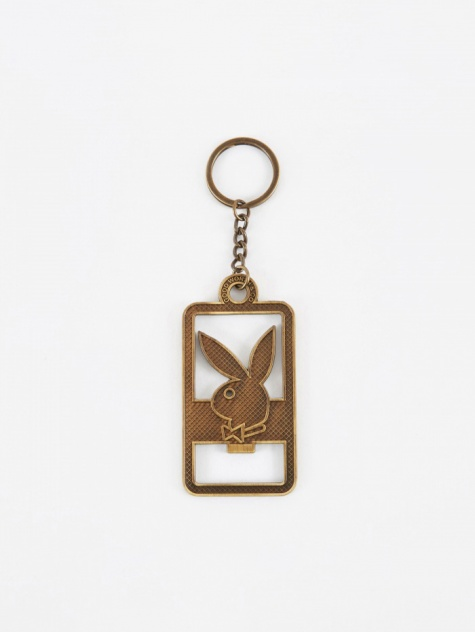 x Playboy Bunny Bottle Opener - Brass