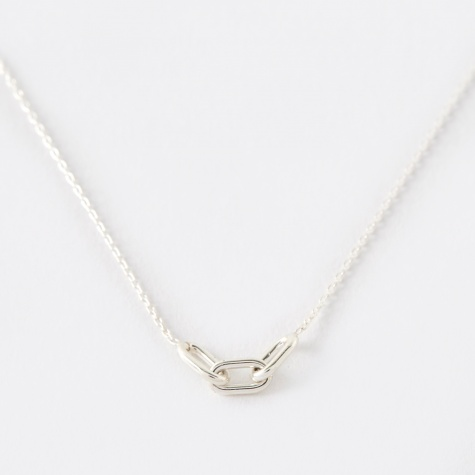 Link Chain Necklace - Silver