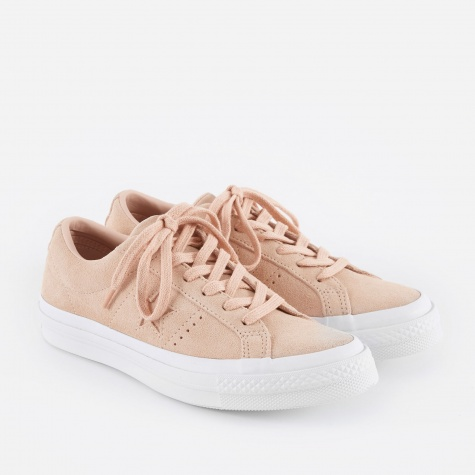 One Star Suede - Dusk Pink/White