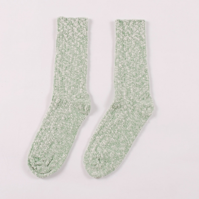 Wigwam Socks Cypress - White/ Green (Image 1)
