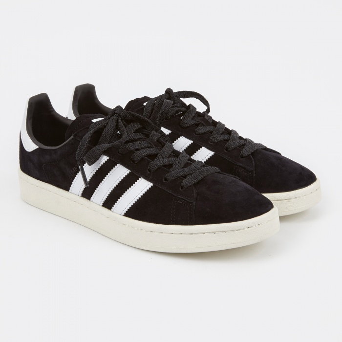 Adidas Campus - Core Black/Chalk White (Image 1)