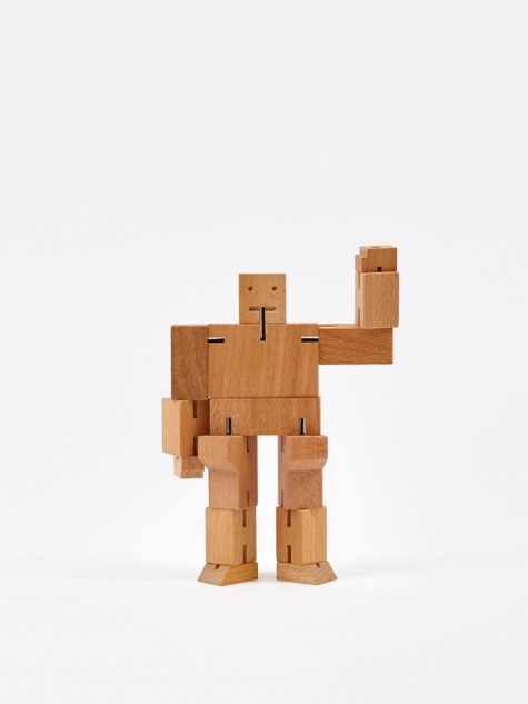 Small Cubebot - Natural
