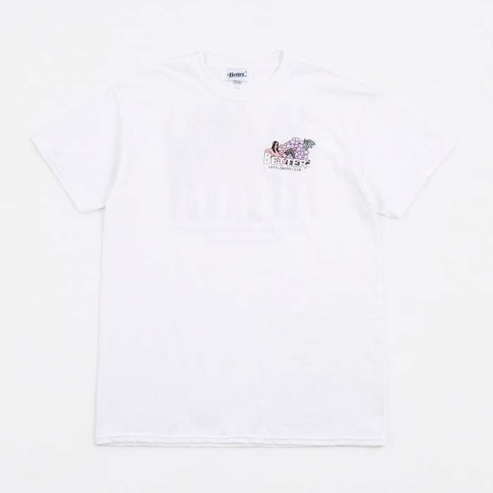 Better Gentlemen's Club T-Shirt - White (Image 1)