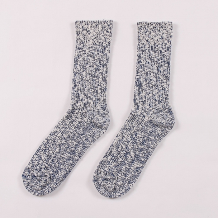 Wigwam Socks Cypress - White/ Navy (Image 1)