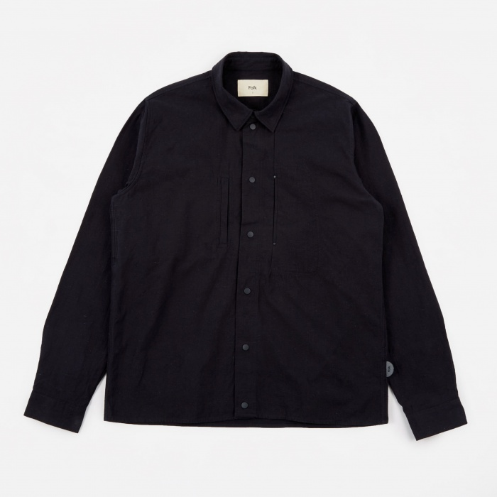 Folk Agnes Jacket - Washed Navy (Image 1)