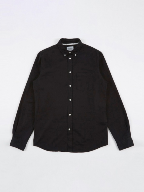 Anton Denim Shirt - Black