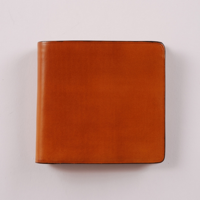Il Bussetto Bi-fold Wallet/Coin Pocket - Ocre (Image 1)