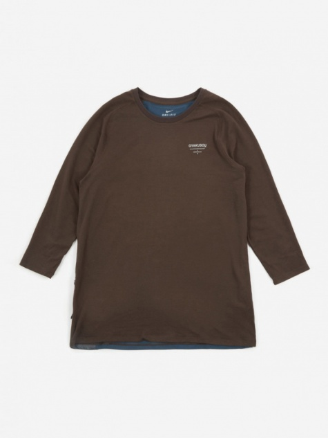 Long Sleeve Top - Velvet Brown/Armory