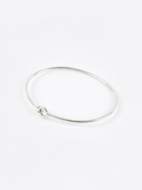 Hook Bangle - Sterling Silver