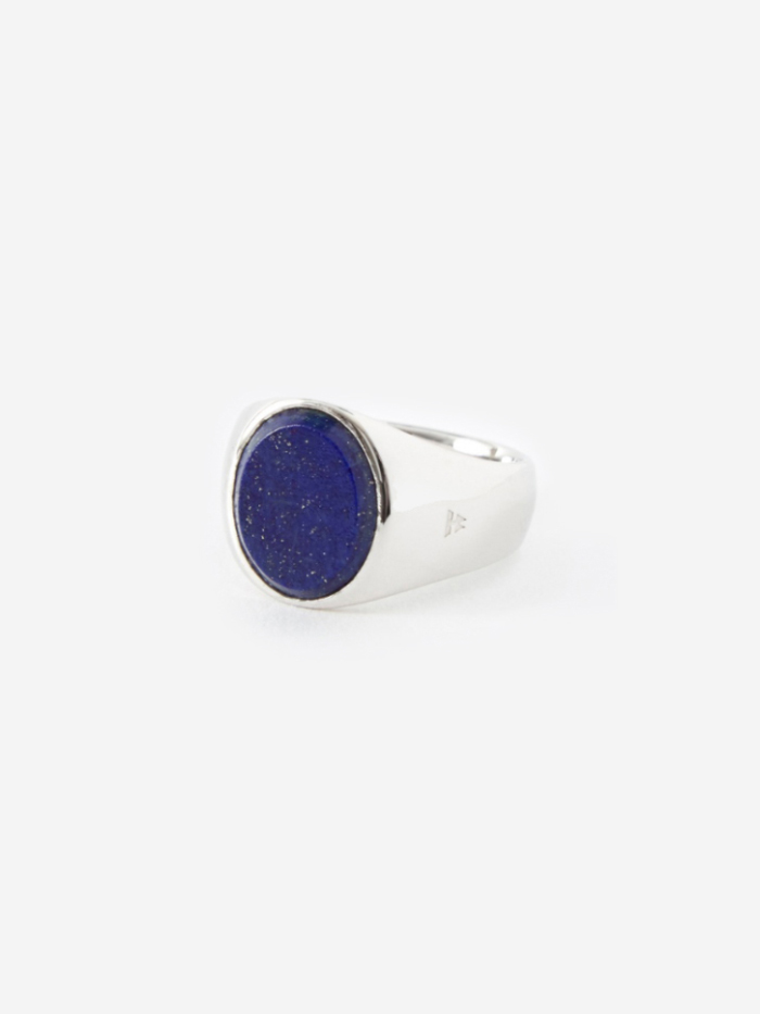 Tom Wood Oval Ring - Blue Lapis (Image 1)
