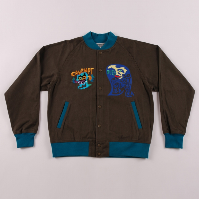 C.E Cotton Twil Cobra Jacket - Navy (Image 1)