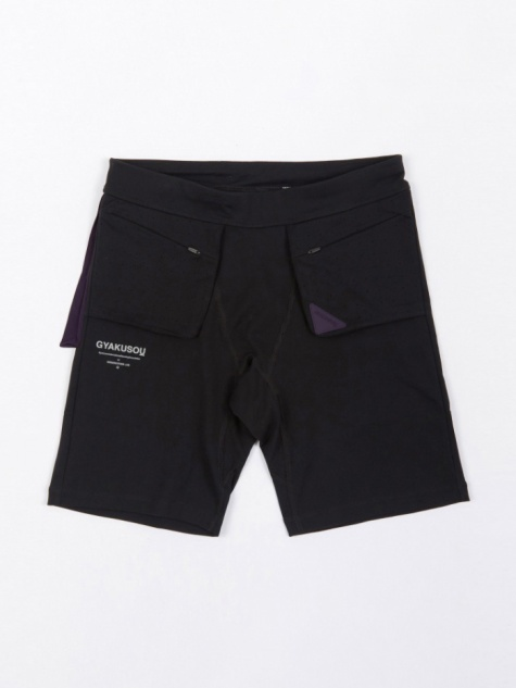 NRG Short Tight - Black/Purple