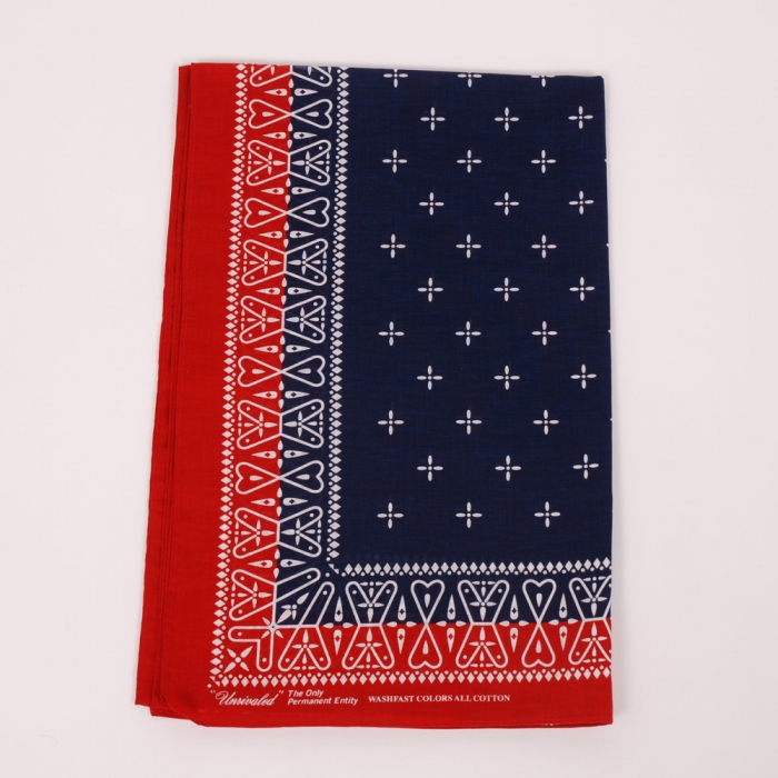 Unrivaled Scarf - Red/Blue (Image 1)
