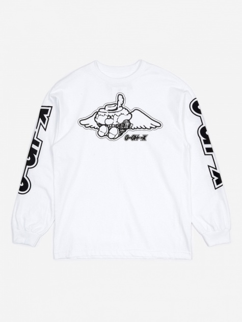 x Goodhood G-GH-X Long Sleeve T-Shirt - White