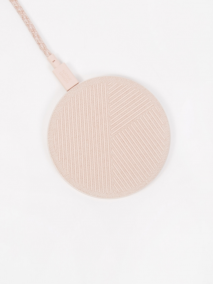 Native Union Drop Charge Pad - Fabric Rose (Image 1)
