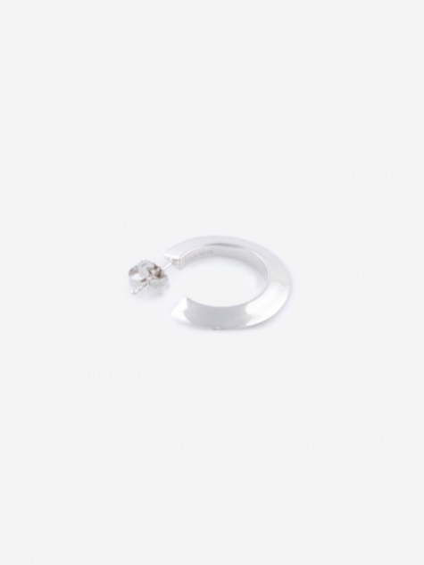 Else Small Hoop Earring - High Polished Silver