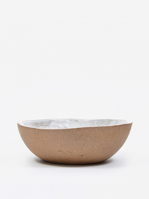 Wide Serving Bowl - Basic White