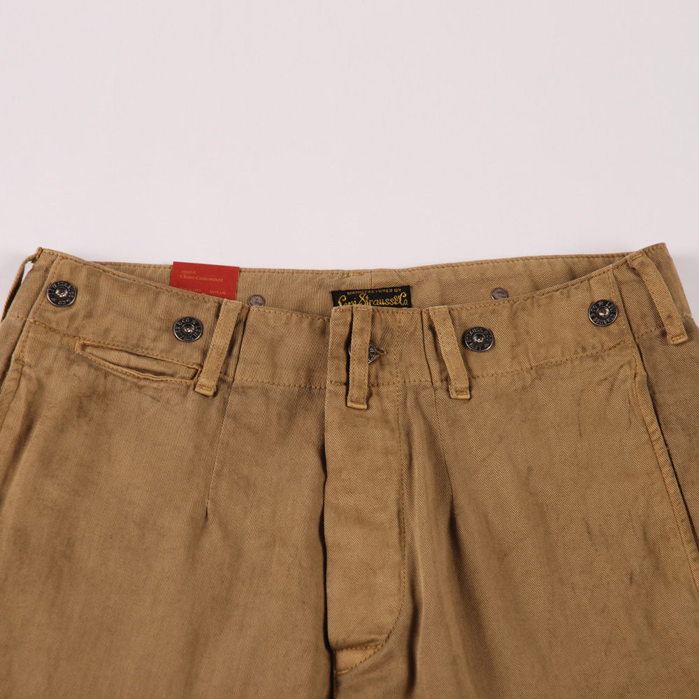 levis vintage 1920 s chino brown otter
