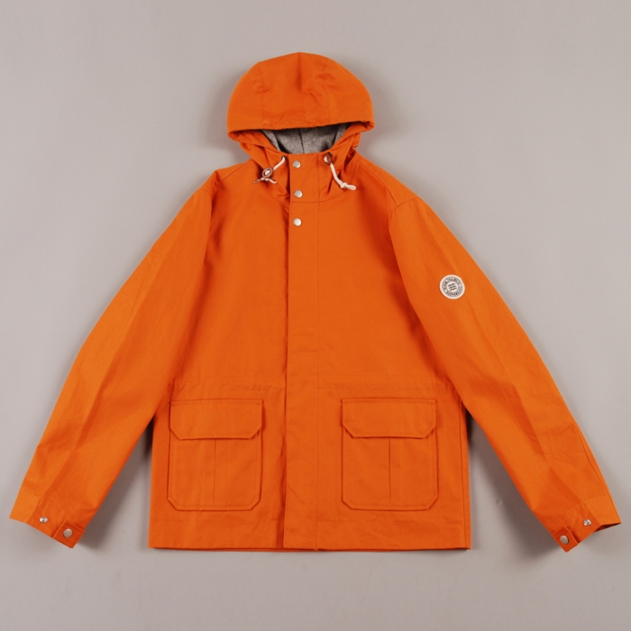 Norse Projects Nunk Jacket - Burned Orange (Image 1)