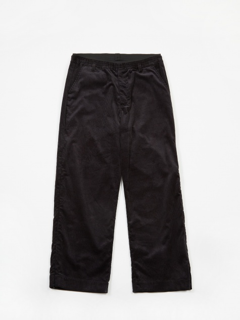 Corduroy Trouser - Black