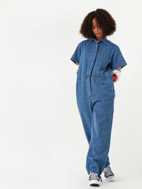 Lee Denim Jumpsuit - Denim