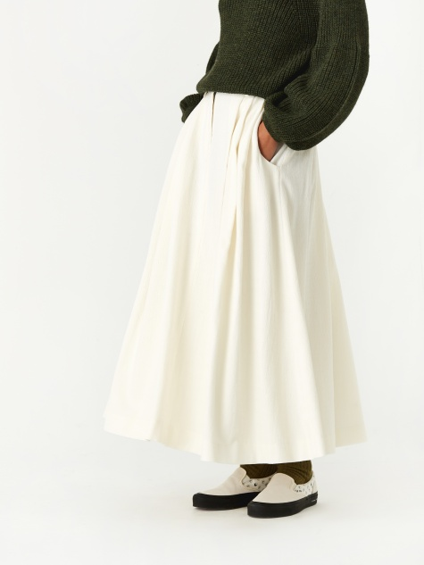 Tulay Skirt - Cream