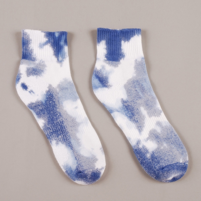 Perks & Mini PAM High Dye Sport Socks - Navy (Image 1)