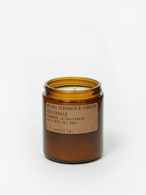 No. 04 Teakwood & Tobacco 7.2oz Soy Candle