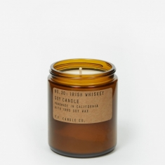 P.F. Candle Co. No. 30 Irish Whiskey 7.2oz Soy Candle
