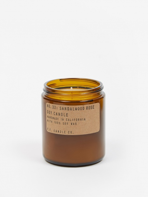 No. 32 Sandalwood Rose 7.2oz Soy Candle