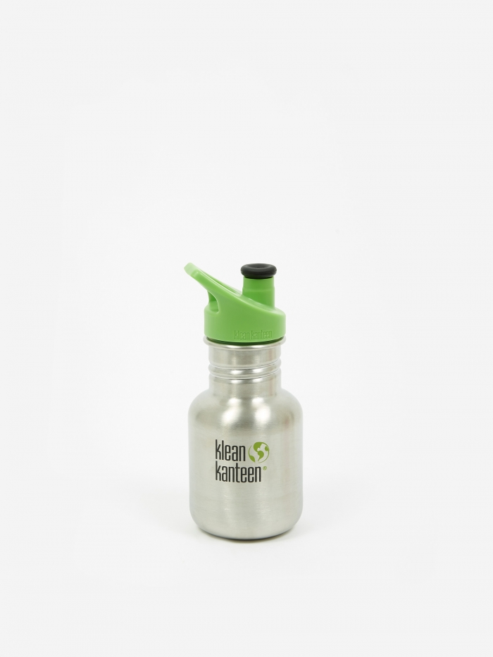 Klean Kanteen Kid Sport 355ml - Brush Stainless (Image 1)