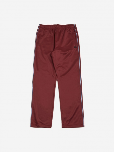 Poly Track Pant - Wine
