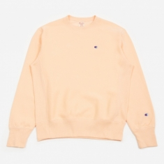 Champion Reverse Weave Crewneck Sweatshirt - Peach