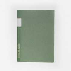 Stalogy Vintage Notebook - Green