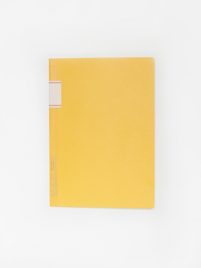 Stalogy Vintage Notebook - Yellow (Image 1)