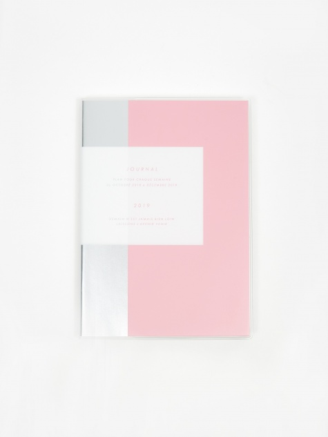 Hightide Weekly 2019 Diary B6 - Pink