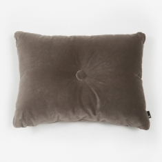 Hay Surface Dot Cushion 45x60cm - Soft Warm Grey