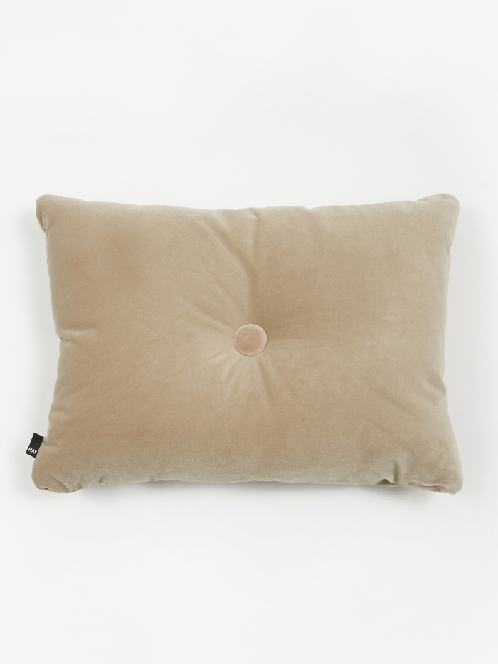 HAY Surface Dot Cushion 45x60cm - Soft Beige (Image 1)