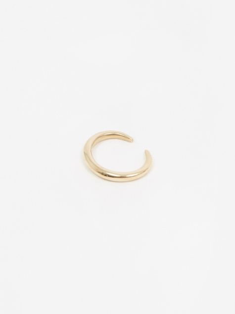 Infinite Tusk Ear Cuff - 14K Yellow Gold