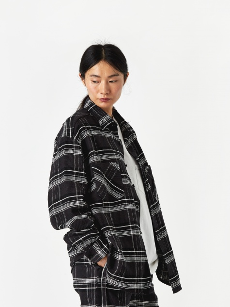 Checked Shirt - Black/Pink