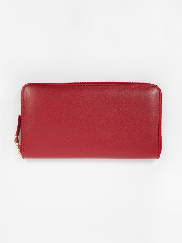 Comme des Garcons Wallets Classic Leather (SA0111) - Red (Image 1)