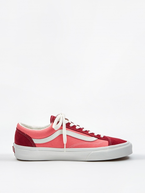 Style 36 - (Vintage Sport) Rumba Red/Blanc De Blanc